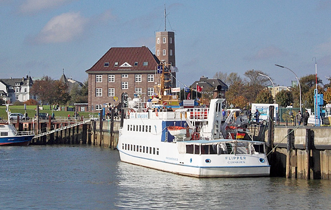 fähre helgoland cuxhaven dauer